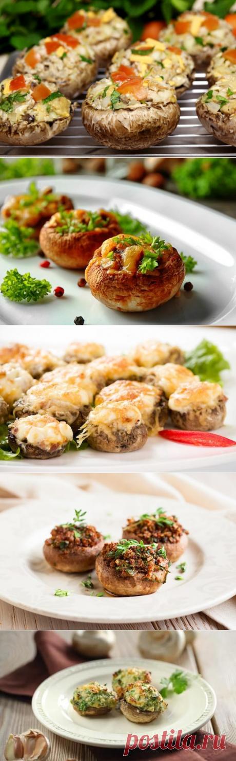 Gastronomic pleasure: 5 recipes of the stuffed champignons — the Taste Factor