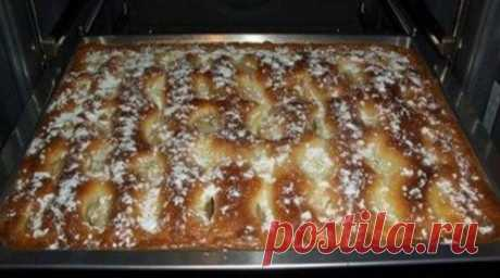 Пирог с яблоками, как пирожное - Счастливый формат