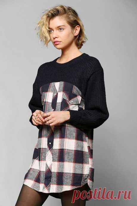 Как переделать надоевший свитер: 10 стильных идей — Мой милый дом