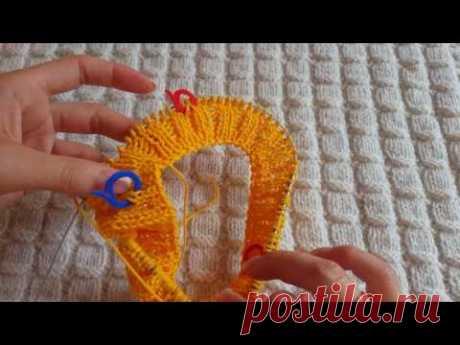 Детский свитерок регланом сверху с ростком (1-я часть)