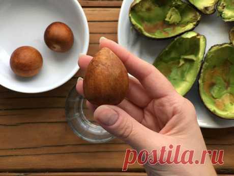 Всего 1 косточка авокадо освободит ваши почки от камней! - Brainum