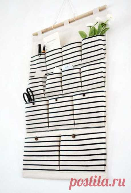 13 pockets storage pocket /wall pocket / wall Storage bag / household storage | Would be great for the door of the bathroom or bedroom