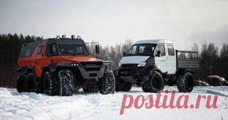 Внедорожники марки ГАЗ, о существовании которых знают только водители-профессионалы