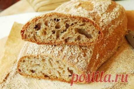Хлеб на домашних фруктовых дрожжах