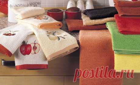 Как отстирать кухонные полотенца и салфетки? Удаляем все пятна легко и просто • Сияние Жизни
