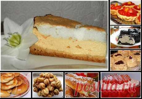 Вы не любите творог? Вы просто не умеете из него готовить!)) Вкуснейшая выпечка и творожные десерты.