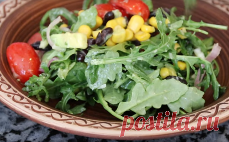 Очень полезный овощной салат - Вкусные рецепты - медиаплатформа МирТесен