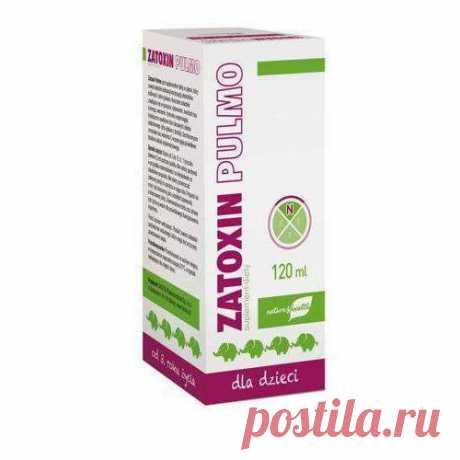 ZATOXIN Pulmo liquid 120ml for children aged 3+ immune system for kids