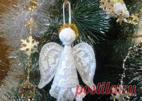 Рождественский ангел своими руками из бумаги или картона: как вырезать фигурку