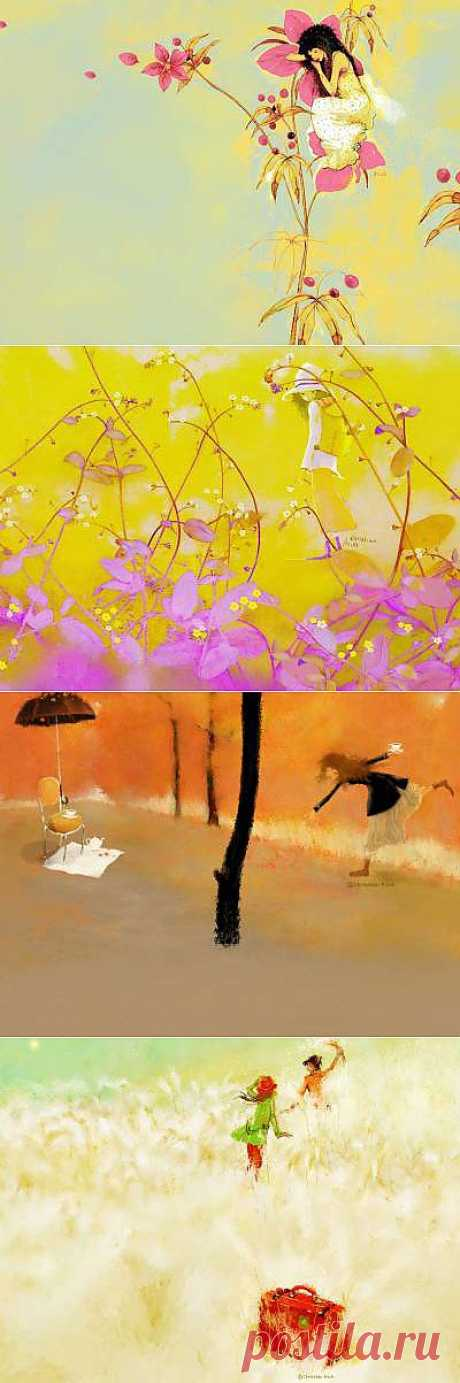 О нежность, воспою тебя... Галерея работ Christian Asuh - Галерея искусств - Для души - Статьи - Школа радости