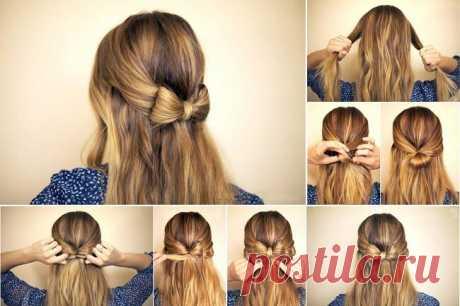 Как сделать простые прически на любой случай без помощи парикмахера | Постила | Яндекс Дзен