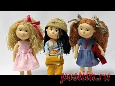 Jeja - výroba bábiky