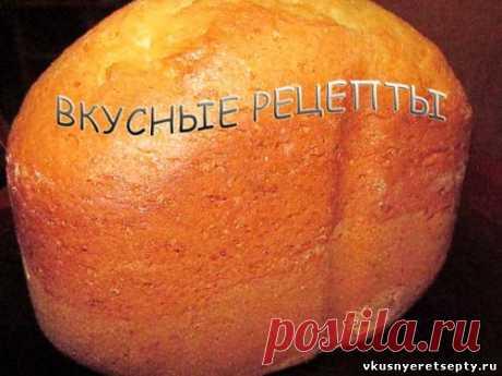 Сладкий хлеб в хлебопечке - рецепт с фото | Вкусные рецепты