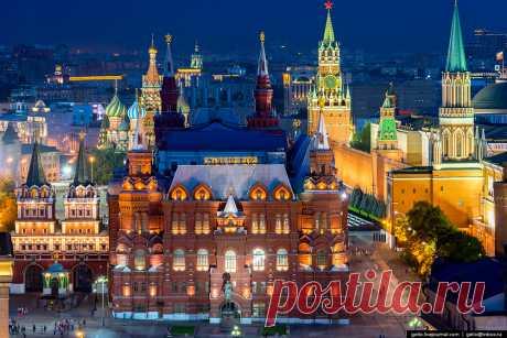 Moscow from above - Gelio (Степанов Слава)