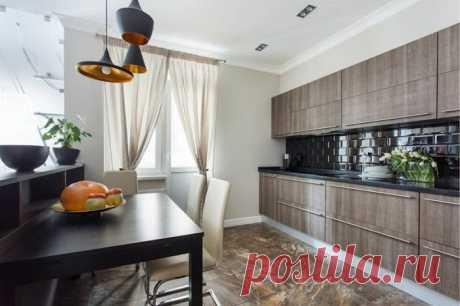 Элегантные кухни с коричневым интерьером, что станут просто находкой для дома