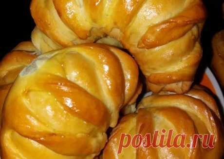Рогалики с яблоком Автор рецепта Сайран Жакупова-Баязиева - Cookpad