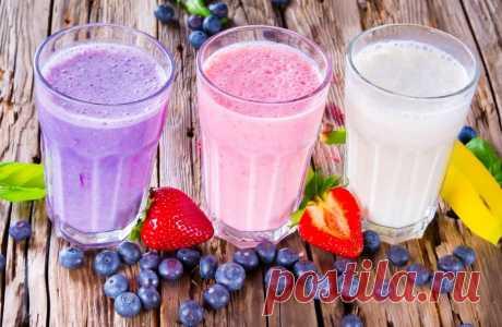 Смузи: Калорийность на 100 грамм и Рецепты для похудения