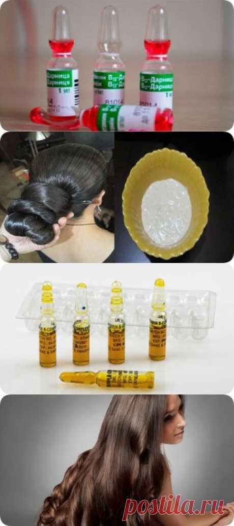 Вот эти аптечные ампулы остановят выпадение волос - interesno.win