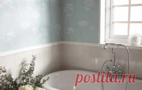 Чем еще отделывать пол и стены в ванной комнате если плиткой не хочется или она надоела | Гуд Ворк | Пульс Mail.ru Достойные конкуренты плитки, среди отделочных материалов