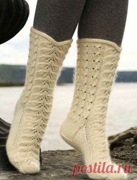 Универсальная схема для носков и варежек