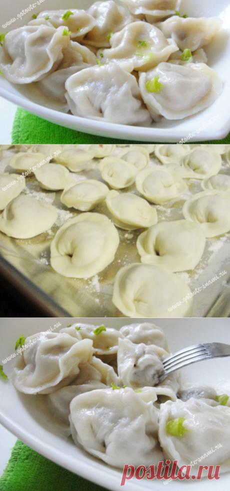Рецепт вкусных пельменей | Готовьте с нами