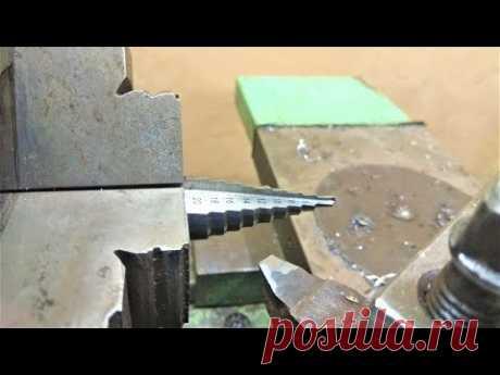 Как заточить ступенчатое сверло