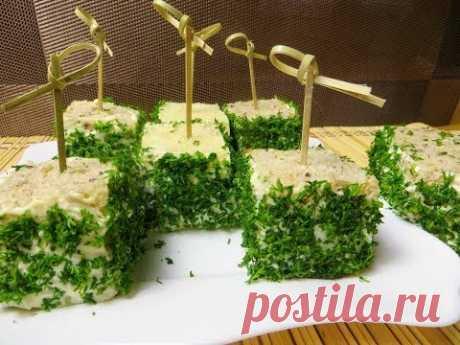 Самый легкий и вкусный бутерброд на праздничный стол / Идея на праздничный стол