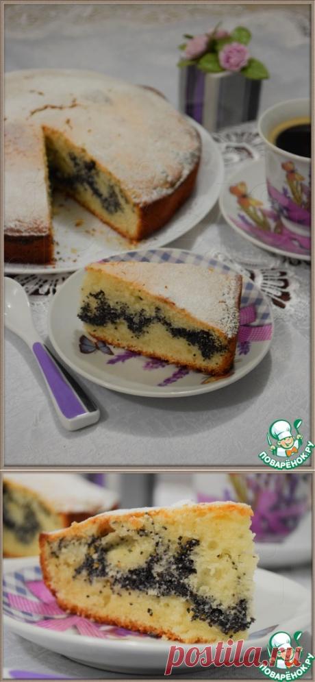 """Пышный пирог """"Маковый"""" - кулинарный рецепт"""