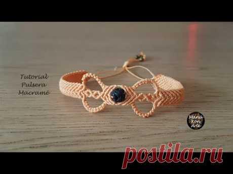 Персиковый браслет
