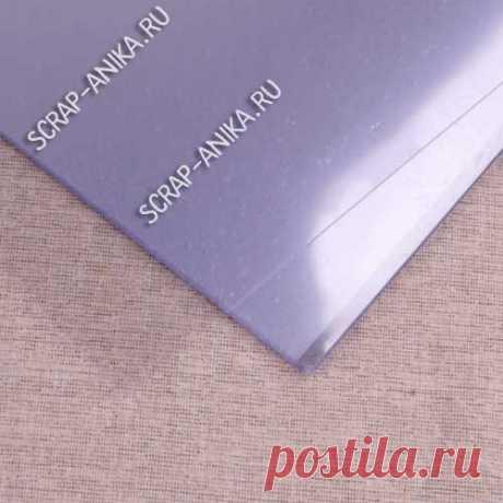 Обложки для переплета пластиковые прозрачные гладкие. - Интернет-магазин - scrap-anika.ru