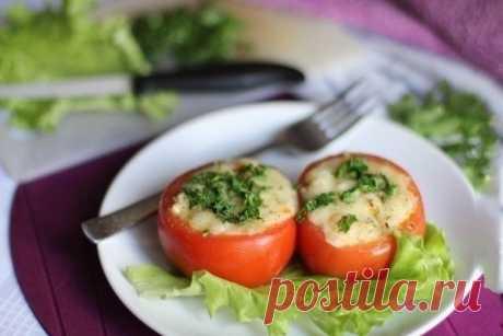 Как приготовить помидоры, фаршированные куриным филе и овощами - рецепт, ингредиенты и фотографии