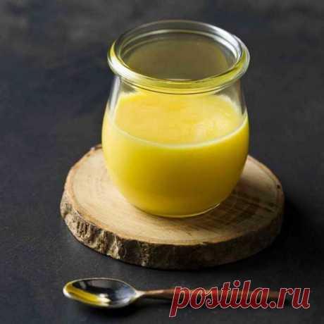 Как сделать домашнее топленое масло: быстрый и простой способ
