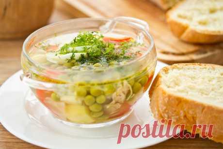 Легкий суп рецепты приготовления
