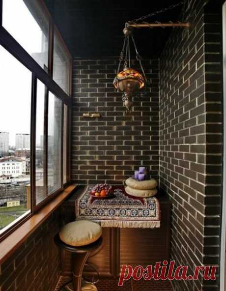 Дизайнерский балкон