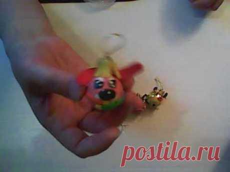ПРОСТО! новогодние игрушки- собачки