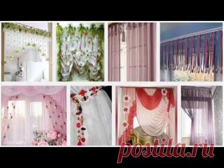 Простые и оригинальные шторы в гостиную своими руками - Блог о строительстве