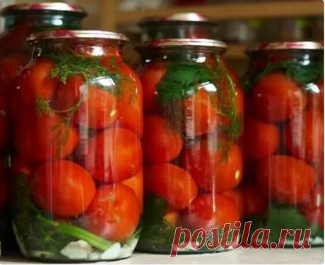 В течении 10 лет закрываю вкусные помидоры на зиму по своему рецепту. Банки не взрываются и не мутнеют - Вкусные рецепты - медиаплатформа МирТесен