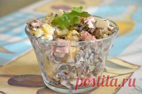 Обалденный салат с морской капустой — впечатляет!