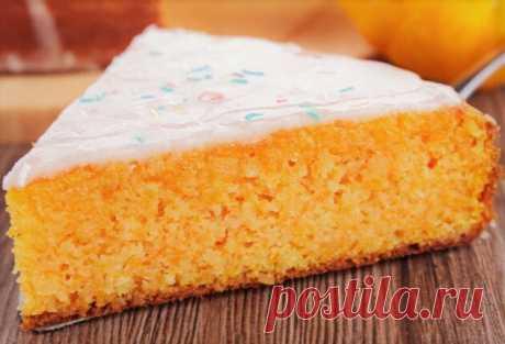 Рецепт очень нежного тыквенного пирога | Как мама | Яндекс Дзен