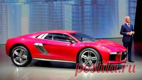 Audi Nanuk Quattro Concept - новинка Франкфурта