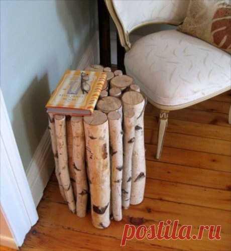 Стильные элементы декора из древесины, которые можно сделать самому, а не тратиться на дизайнерскую — Дом и Сад