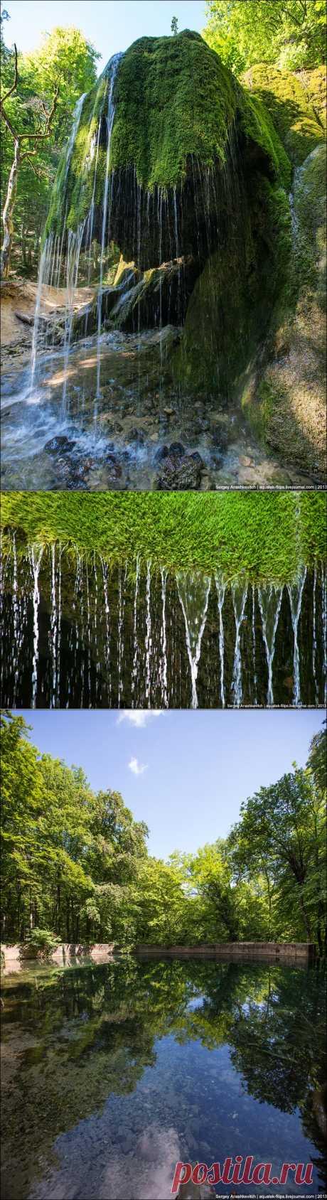 Остров Крым - Водопад Серебряные Струи