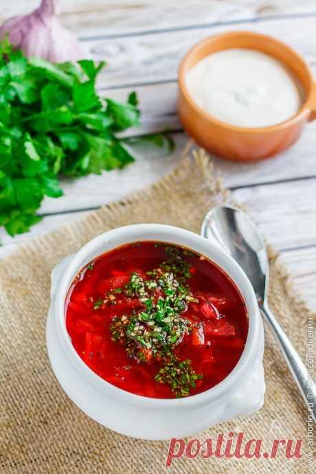 Классический рецепт приготовления самого вкусного борща - Кулинарные заметки Алексея Онегина