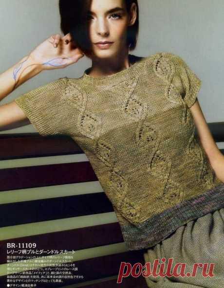 Стильные вязаные топы. В какое время года их носить? | Asha. Вязание и дизайн.🌶 | Яндекс Дзен