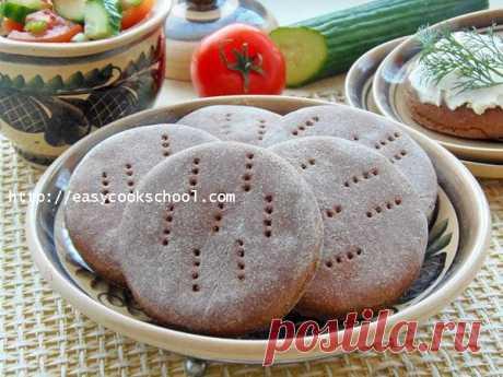 Ржаные лепешки на кефире в духовке | Легкие рецепты