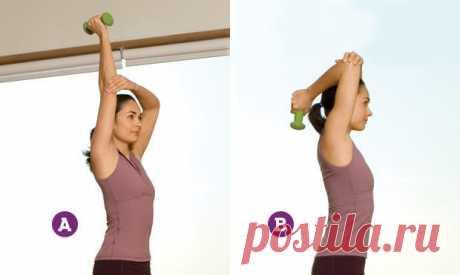 Красивые и подтянутые руки возможны в любом возрасте: всего 4 упражнения!
