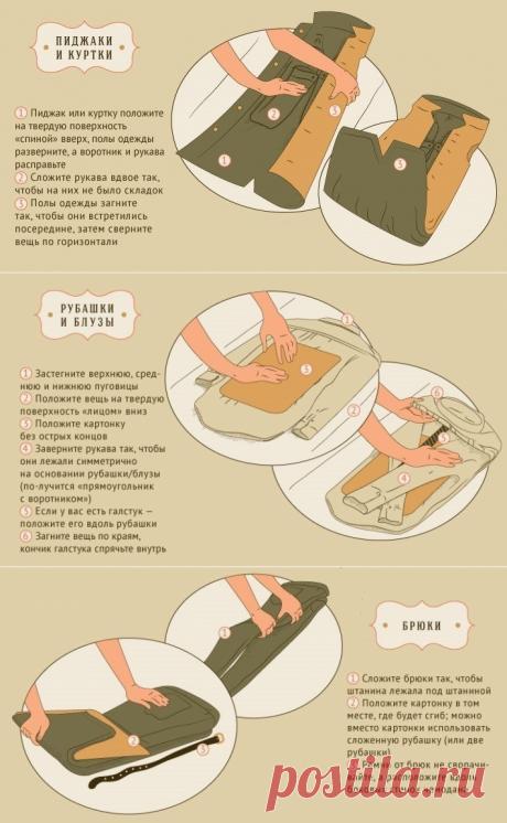 Como empaquetar correctamente el traje en la maleta