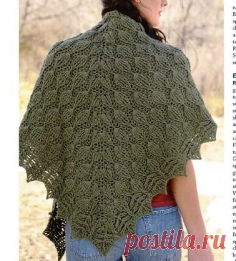 Красивые шали. Вязание крючком | Марусино рукоделие | Яндекс Дзен