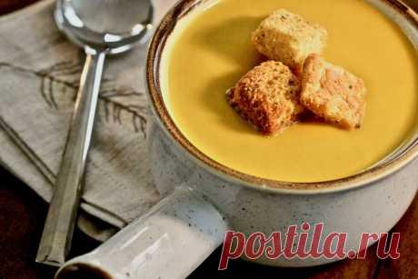 Тыквенный суп - оригинальное и вкусное блюдо из тыквы