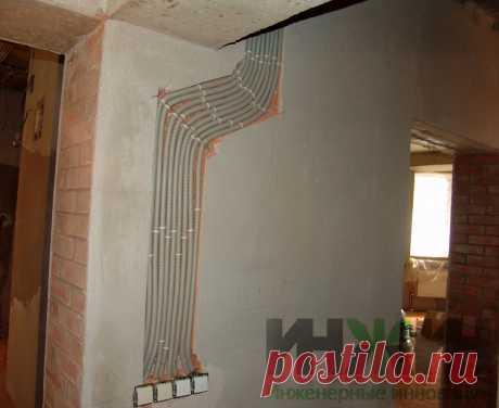 Монтаж электропроводки в кирпичном доме 477